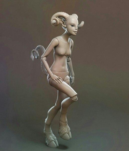 Скульптор Ольга Бекреева (9 фото)