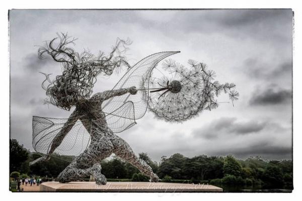 Скульптор Робин Вайт (Robin Wight) (13 фото)