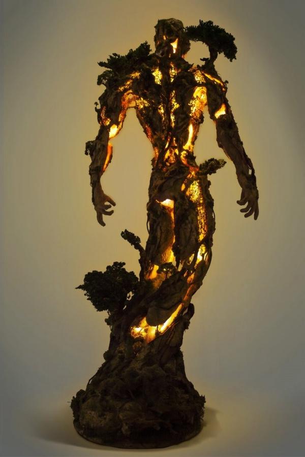 Скульптора Garret Kane (6 фото)