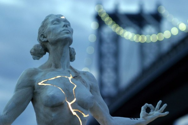 Скульптура «Расширение» («Expansion»). Скульптор Пейдж Бредли (Paige Bradley) (7 фото)