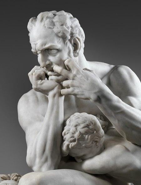 Скульптура Граф Уголино делла Герардеска (7 фото)