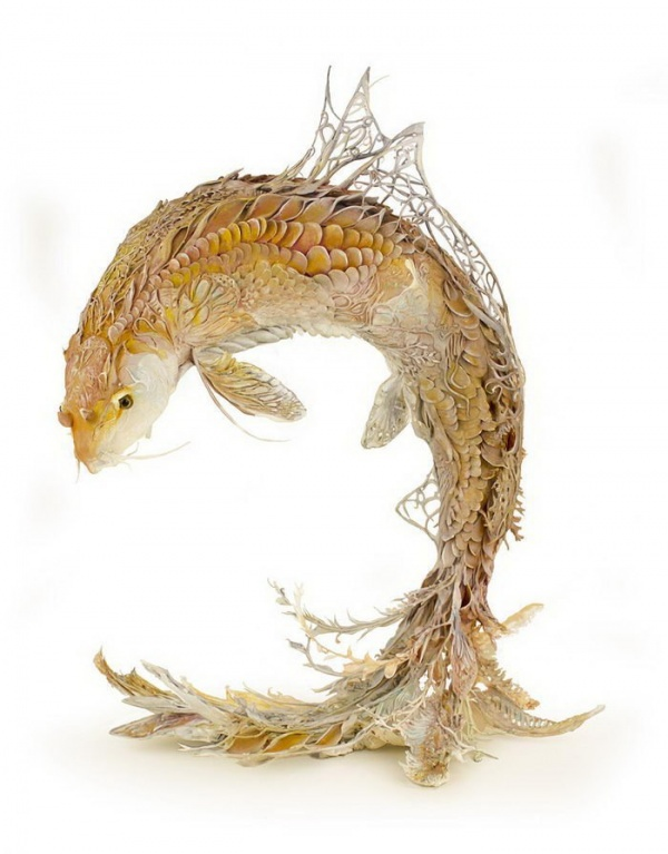 Скульптуры животных Ellen Jewett (9 фото)