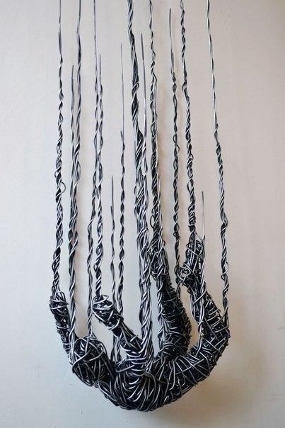 Скульптуры из металлической проволоки от Richard Stainthorp (5 фото)