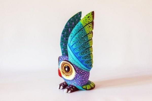 Скульптуры из штата Оахаки, Мексика (7 фото)