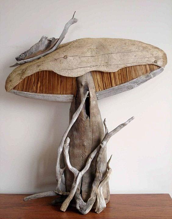 Скульптуры, собранные из коряг от Vincent Richel (7 фото)