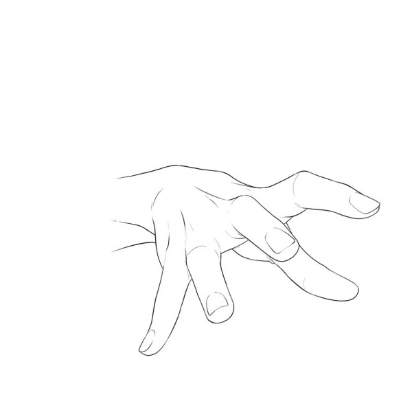 Moe Parts Collectionю Hands. 12 hands poses for comic drawing (467 работ)