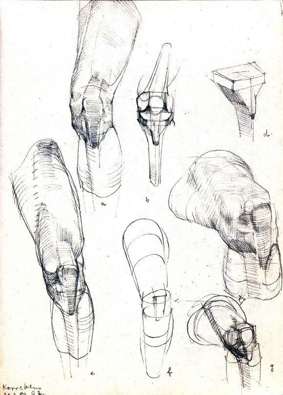 Баммес. Ноги (118 работ)