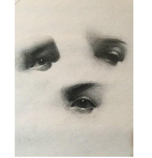 Глаза в зарисовках Emilio Villalba (10 работ)