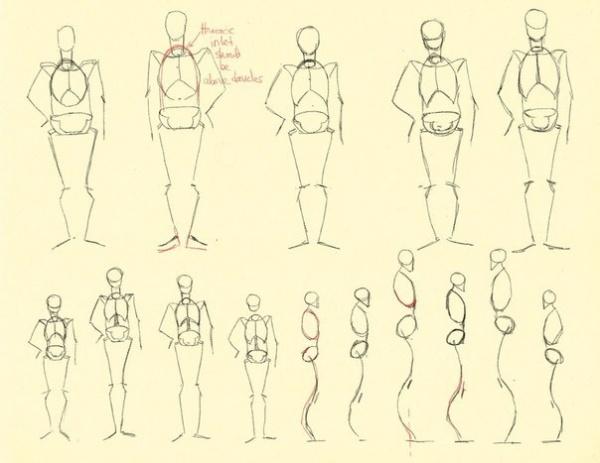 Уроки по рисованию людей (329 работ)