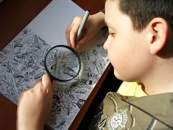 11-летний вундеркинд бросил вызов профессиональным художникам (10фото)