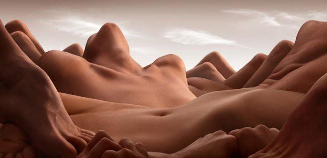 Карл Уорнер может создать пейзаж из всего (20фото)