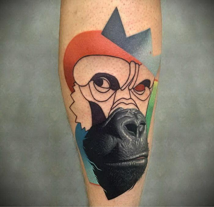 Яркие, реалистичные и очень оригинальные татуировки мастера Dzikson Wildstyle (15фото)