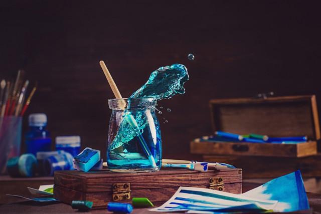 Ловкий трюк от мастера натюрмортной фотографии: как снимать брызги в студии (14фото)