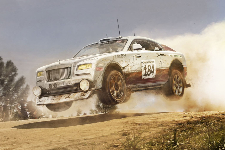 Современные автомобили, которые мы мы никогда не увидим в ралли (10фото)