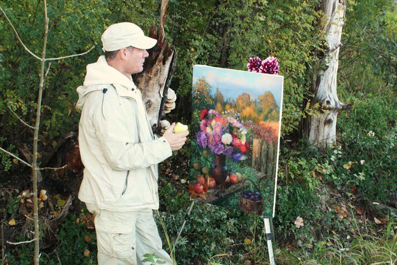 Русский художник Владимир Юрьевич Жданов (63фото+1видео)