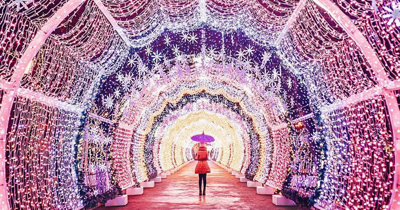 Сказочная рождественская Москва в фотографиях Кристины Макеевой (17фото)