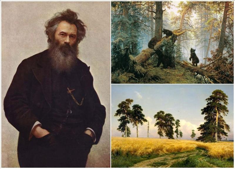 Сегодня годовщина со дня рождения Ивана Ивановича Шишкина (50фото)