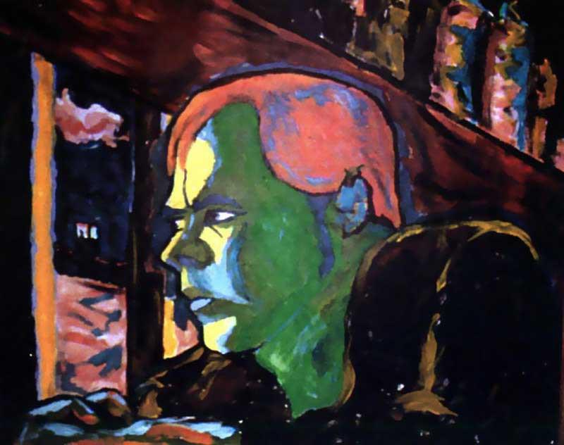 Картины и рисунки Дэвида Боуи (26фото)
