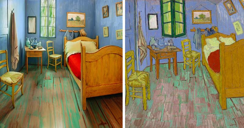 На Airbnb теперь можно снять комнату с полотна Ван Гога (7фото)