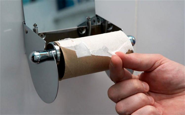 Что делать когда закончилась туалетная бумага (10фото)