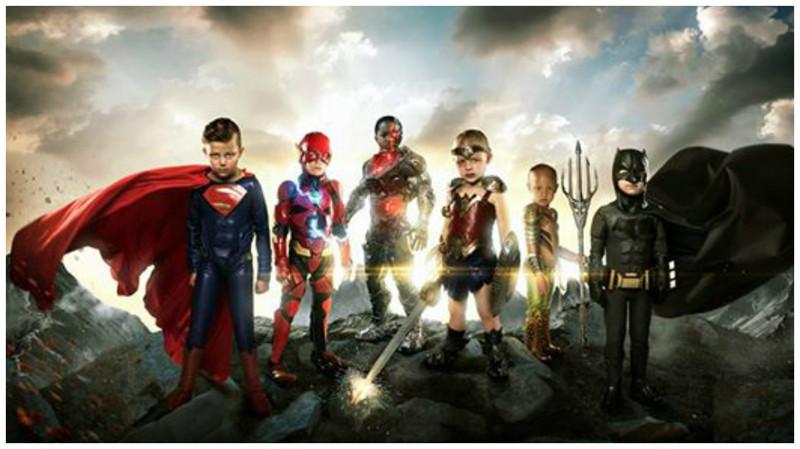 Как дети с инвалидностью стали отрядом суперменов (9фото)
