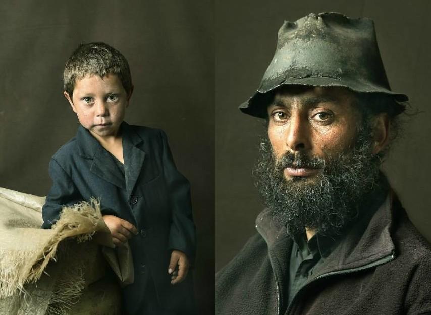 Пронзительные портреты пиренейских цыган в стиле старинных картин (10фото)