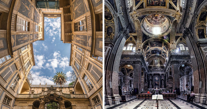 Дизайнер придумал технику фотосъемки, раскрывающую всю красоту архитектурных шедевров (15фото)