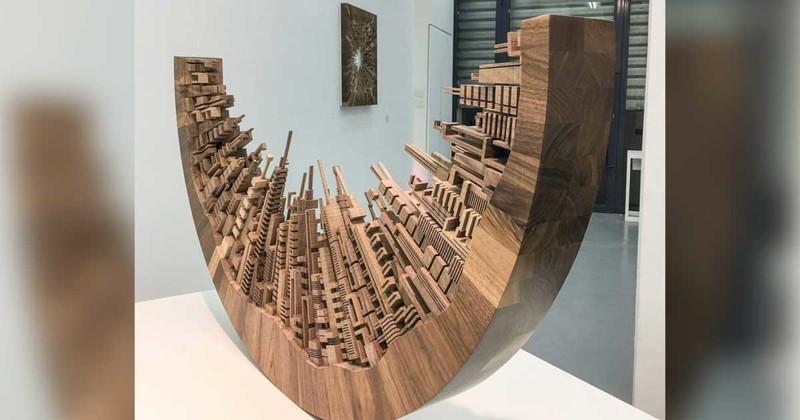 Бывший мебельщик вырезает поразительные городские силуэты из дерева (9фото)