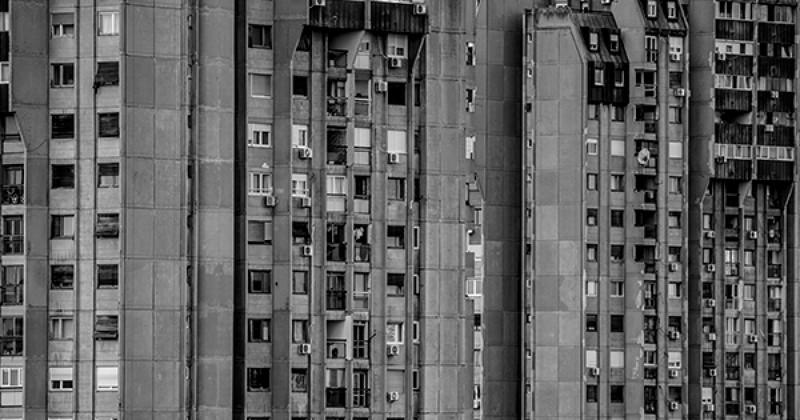 Архитектурный модернизм и брутализм Белграда, Сербия (31фото)