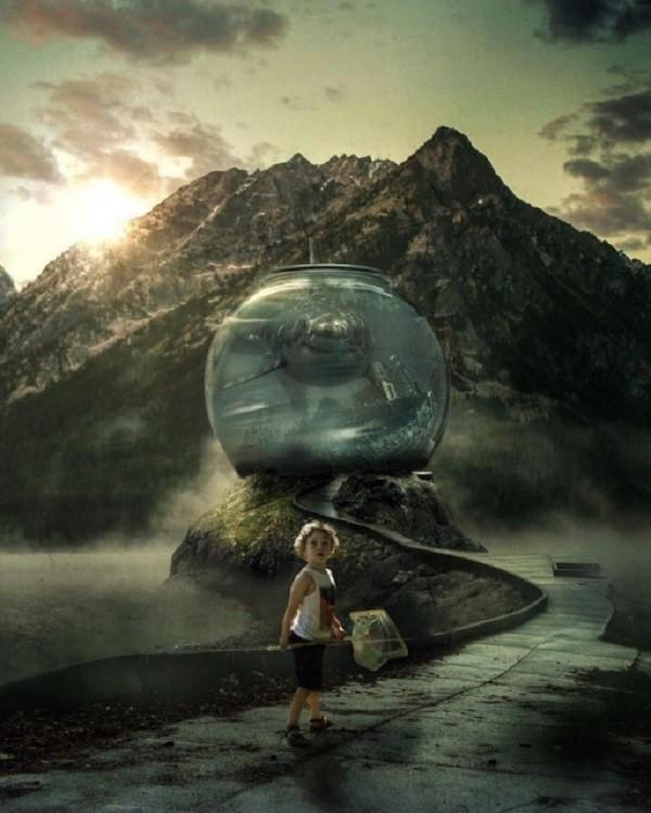 Сказочный мир Марселя ван Льюита (24фото)