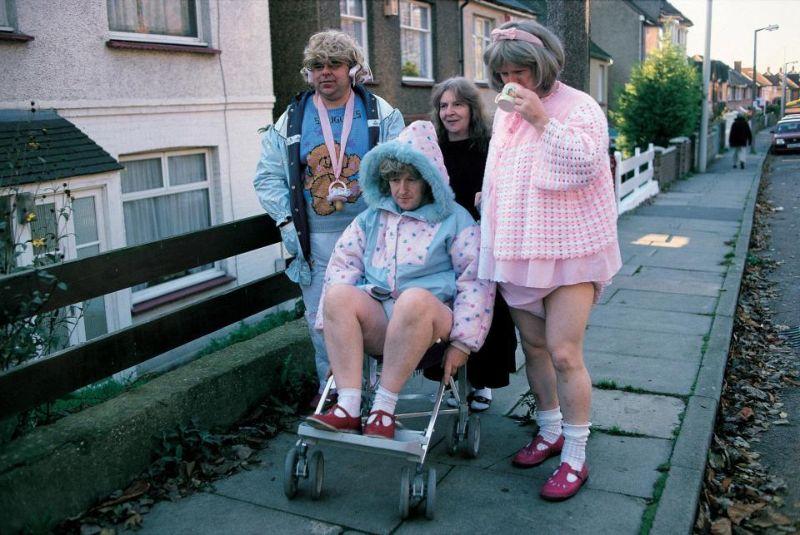 Малые дети во взрослом теле на снимках Полли Борланд (11 фото)