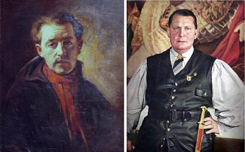 Поддельное искусство. Хан ван Меегерен –художник, обманувший Геринга (7фото)