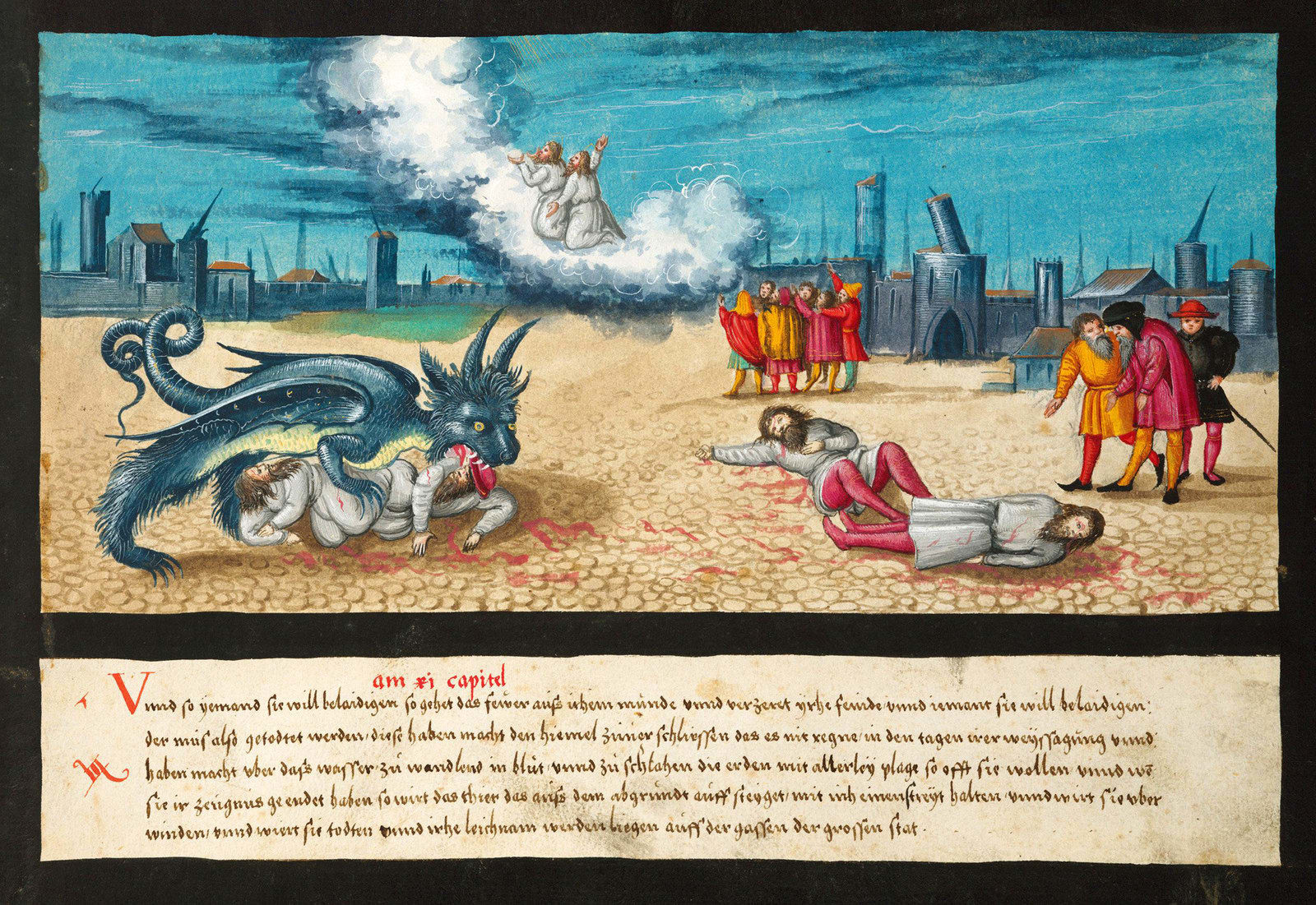 Апокалипсис глазами художников XVI века: что из этого сбывается уже сегодня? (10фото)
