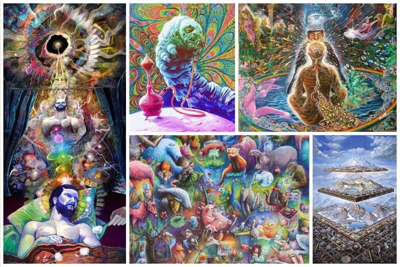 Правда ли, что цветные сны - признак шизофрении? (17фото)