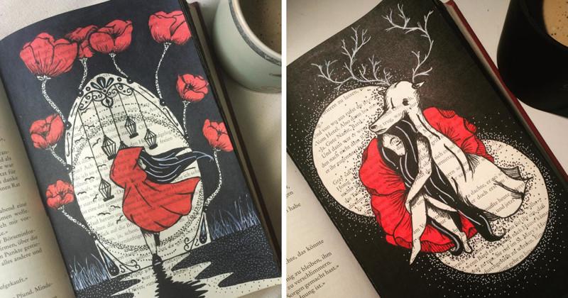 Девушка нашла творческое применение старым книгам (40фото)