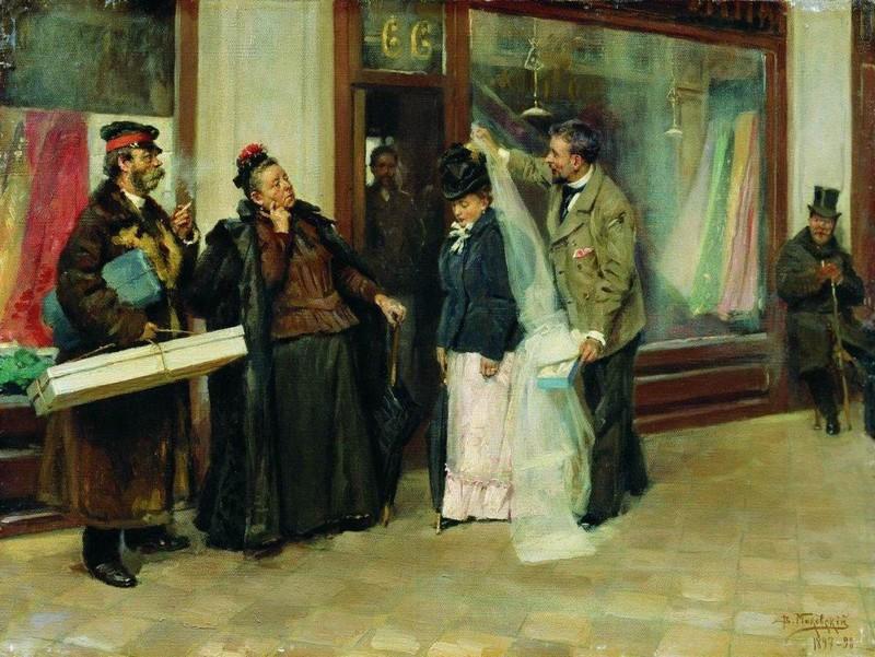 Картины про несчастных невест в русском искусстве (20фото)