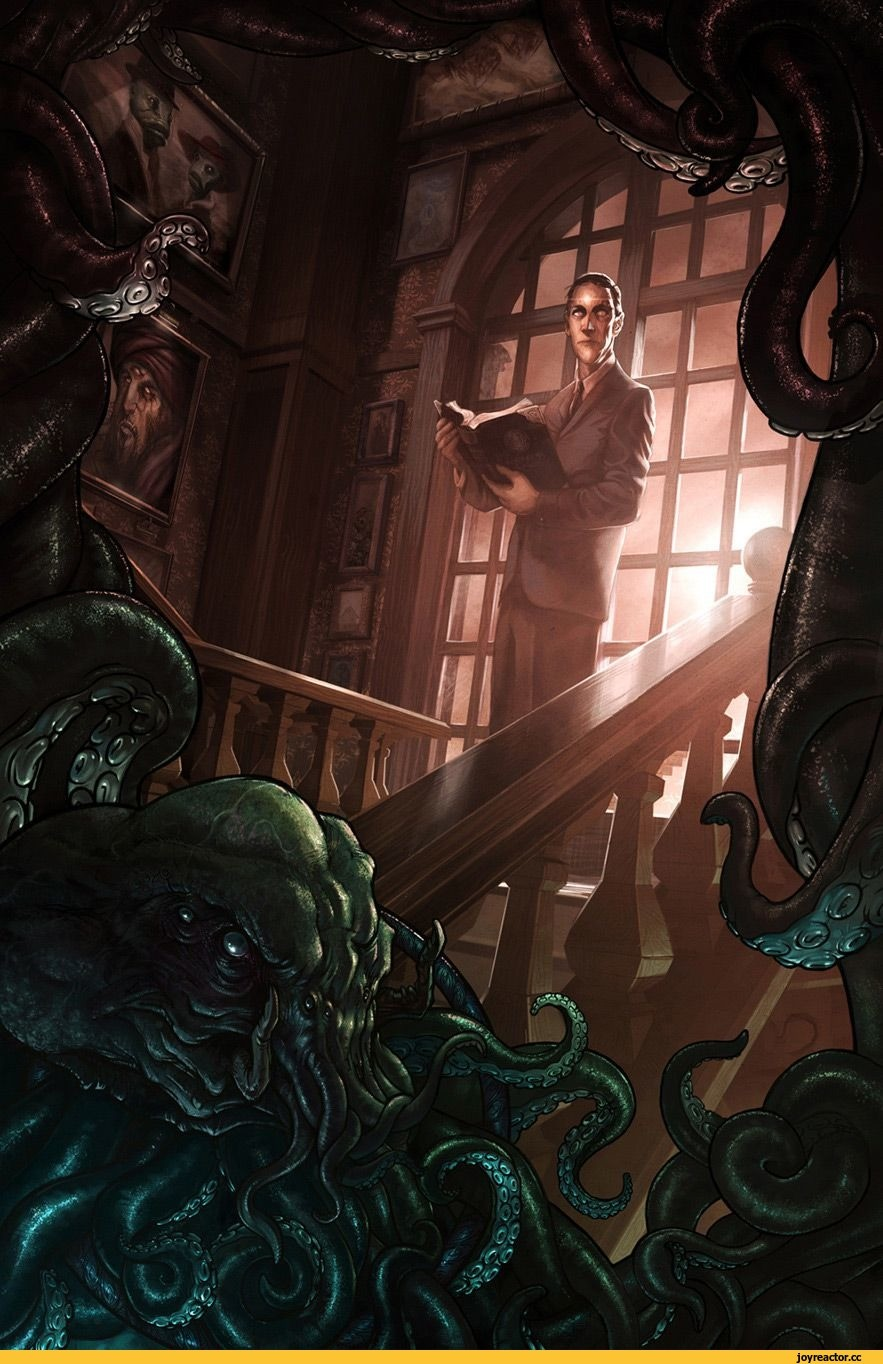 Говард Лавкрафт и его монстры (41фото)