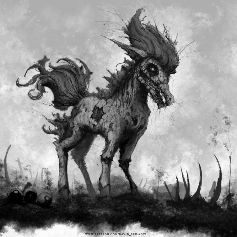 Художник превращает покемонов в ужасных монстров, и они реально жуткие (25фото)