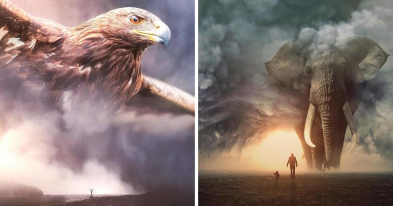 Как будет выглядеть наш мир, захваченный гигантскими тварями? (26фото)