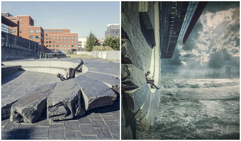 Немного магии: фотограф превращает свои снимки в фантастические миры (16фото)
