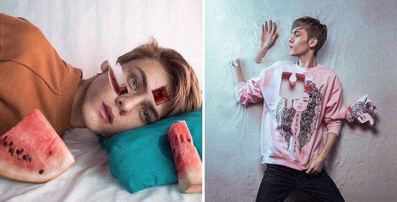 18-летний парень из России создает работы в стиле Темный сюрреализм (23фото)