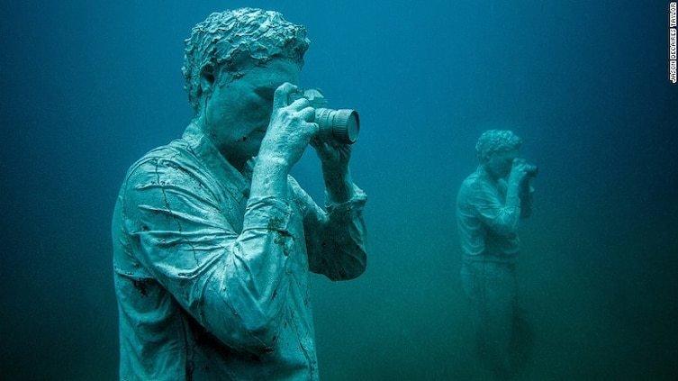 Искусство на дне океана: в Европе открылся первый подводный музей (7фото+1видео)