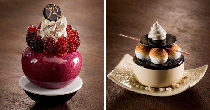Художница не может употреблять в пищу сладости, поэтому создает их из стекла (26фото)