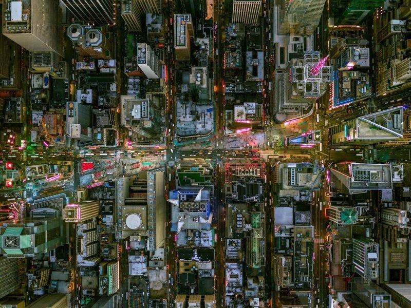 Взгляд с неба на город ангелов: потрясающие снимки Лос-Анджелеса и Нью-Йорка с высоты птичьего полета (18фото)