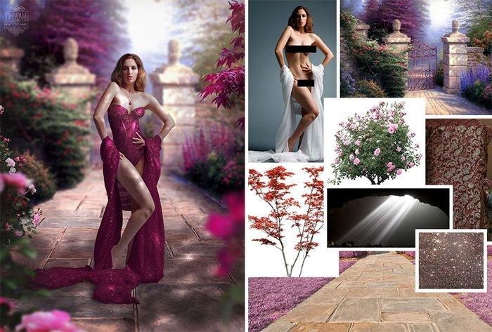 Фотограф создает сказку с помощью случайных картинок из интернета (10фото)