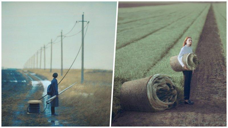 Волшебный мир сюрреализма в фотографиях киевского фотографа Олега Оприско (21фото)