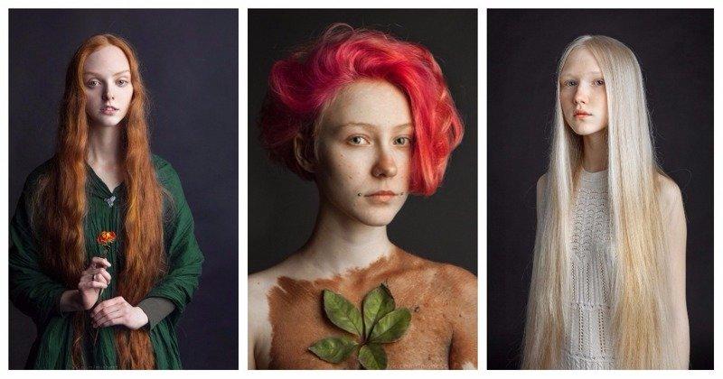 Природная красота людей в работах российского фотографа (26фото)