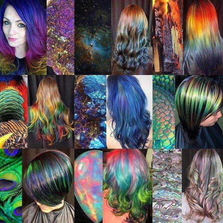 Красота мира в окрашенных волосах (24фото)