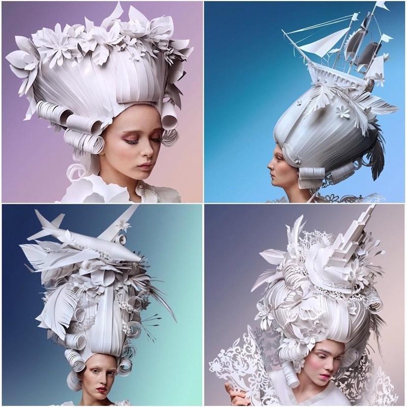 Ася Козина и её современная интерпретация париков эпохи барокко (27фото)