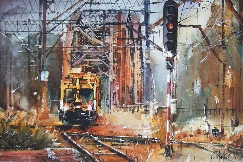 Железнодорожная живопись (24фото)